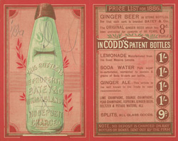 Advert For Messers Batey & Co, Bottled Water